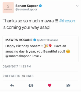 Mawra Hocane & Sonam Kapoor Prove That Friendship Goes Beyond Borders