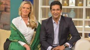 wasim akran with wife 759
