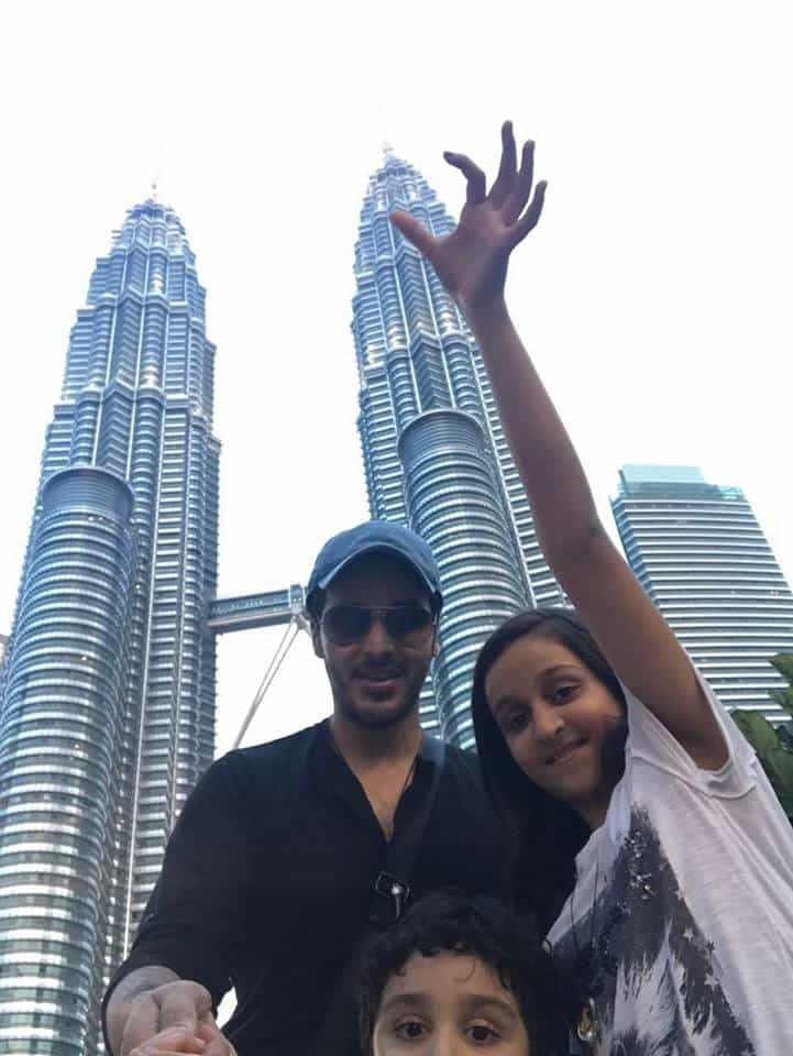 Ahsan Khan Found Holidaying In Malaysia With Family
