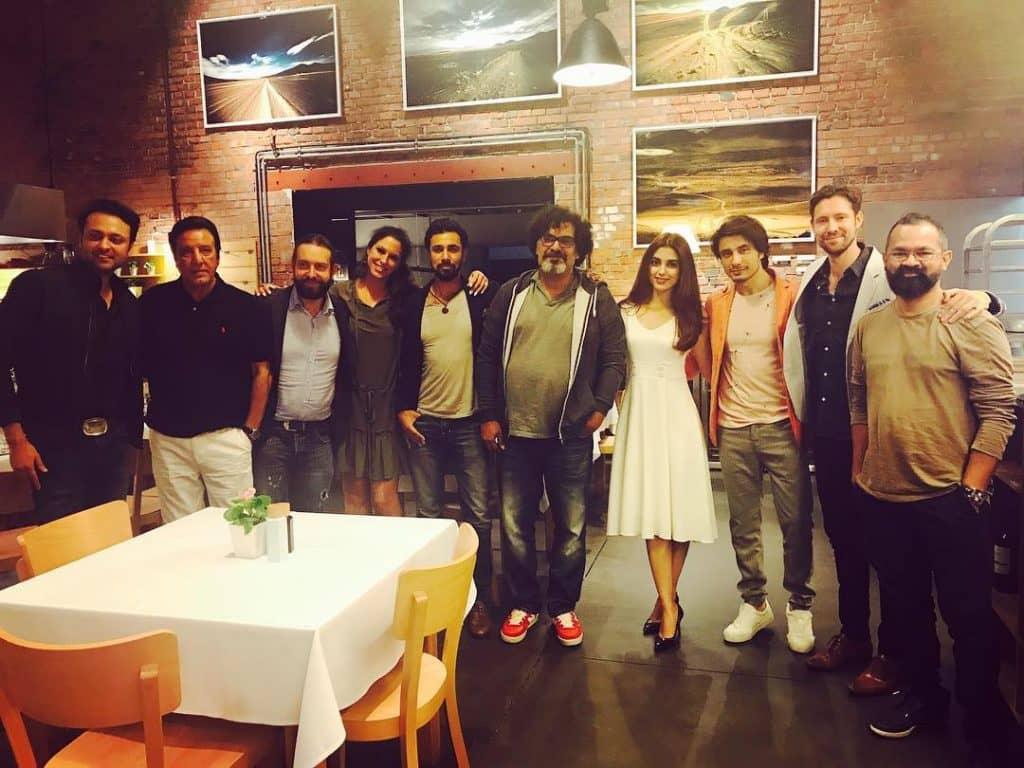 Team Teefa at Maya's Dinner!