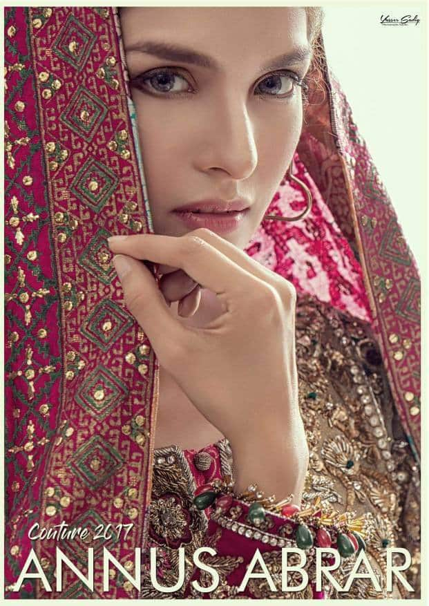 Photoshoot Of Saeeda Imtiaz For Annus Abrar's Bridal Couture