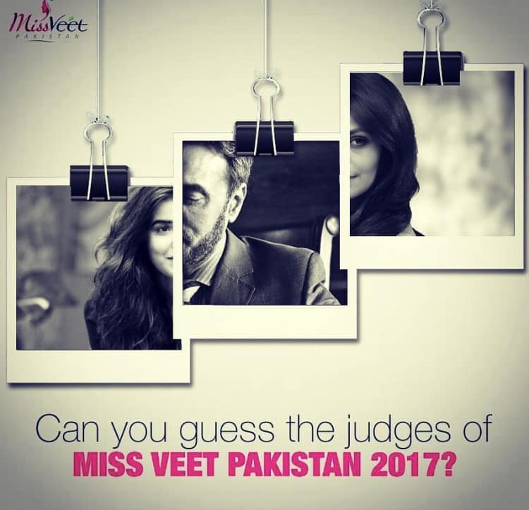 Judges Of Miss Veet Pakistan 2017 Revealed
