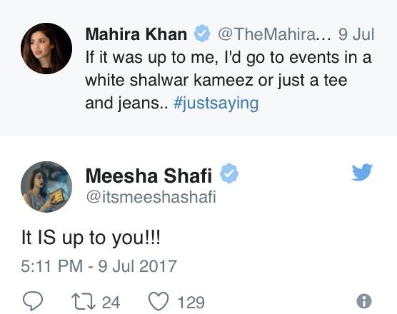 Mahira Khan's Tweet Gets Interesting Replies