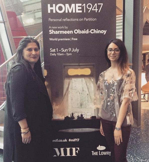 Sharmeen Obaid Chinoy Meets Bono From U2