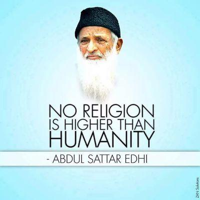 Edhi Will Remain In Our Hearts!