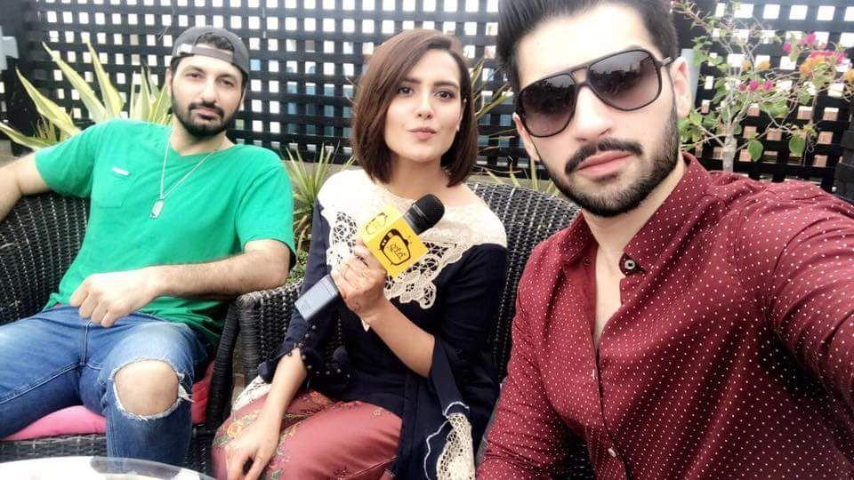 Cast of Upcoming Drama Serial 'Ghairat' At The Promo Launch