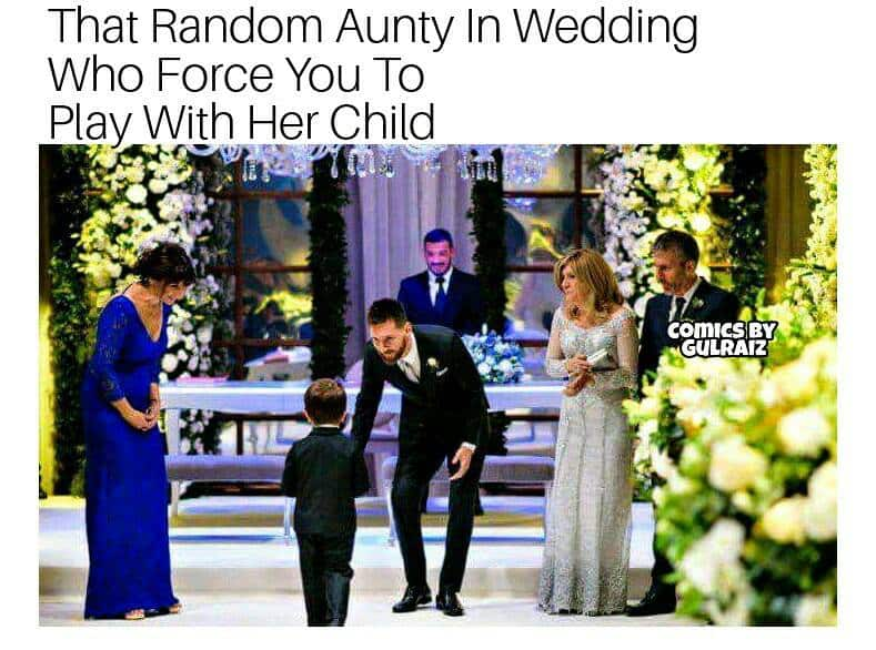 Messi's Wedding in a Desi Style!