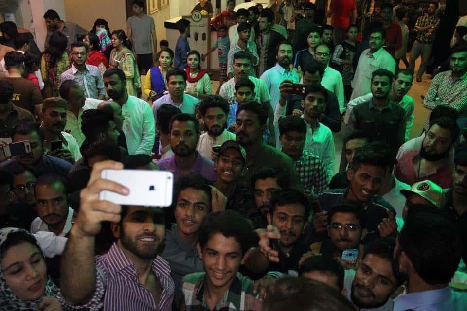 Promotions Of 'Project Ghazi' Reaches Atrium And Neuplex Cinemas In Karachi