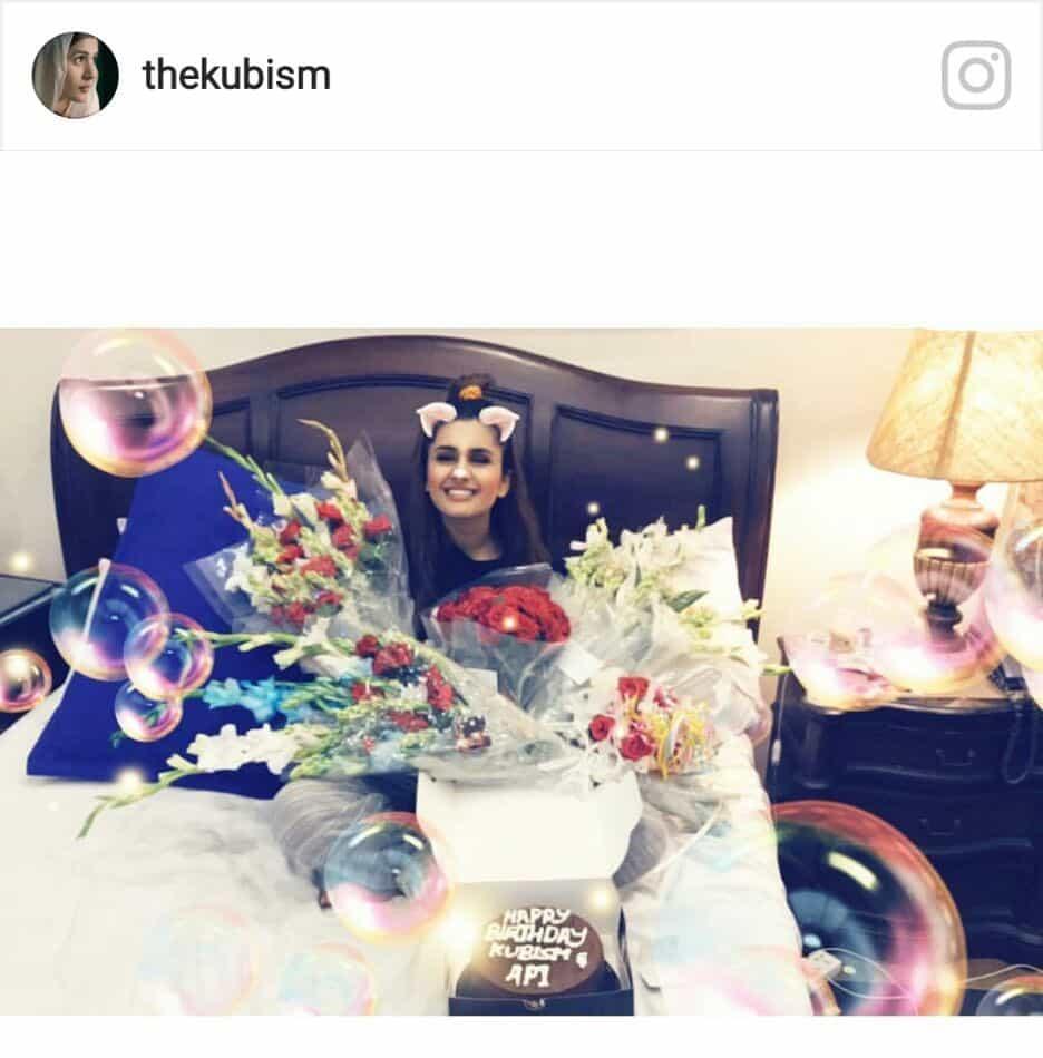 Kubra Khan Gives Us Birthday Celebration Goals!