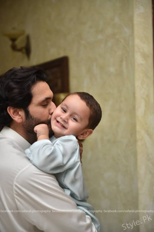Fahad Mirza And Sarwat Gillani Celebrated Second Birthday Of Their Son