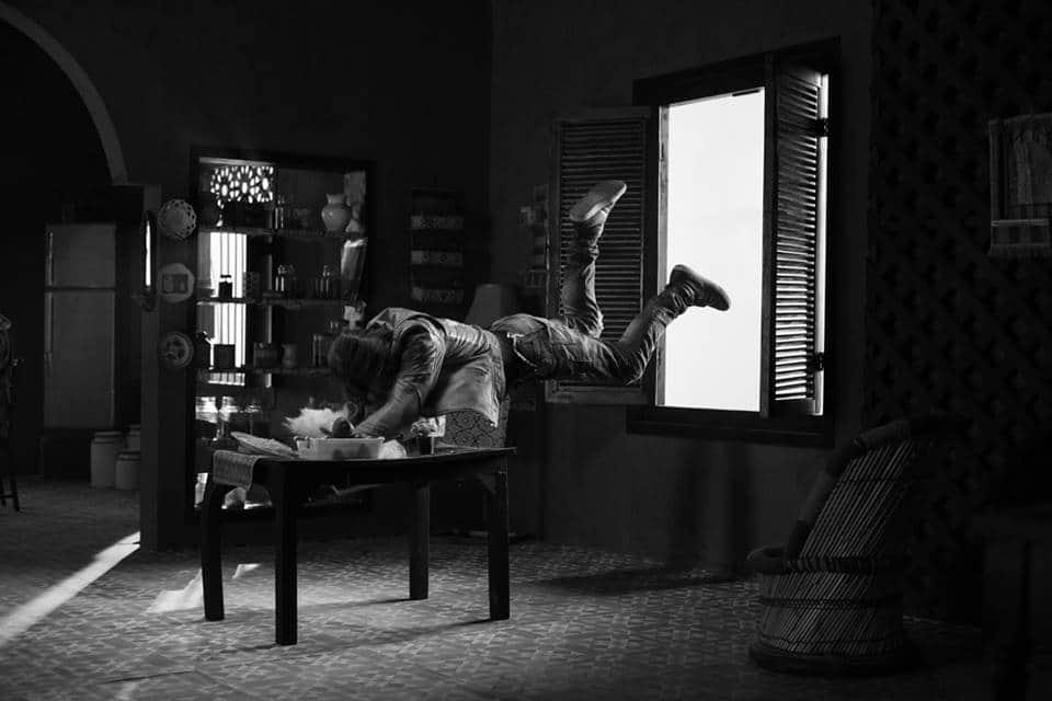 Ali Zafar Filming Some Death Defying Stunts For 'Teefa In Trouble'