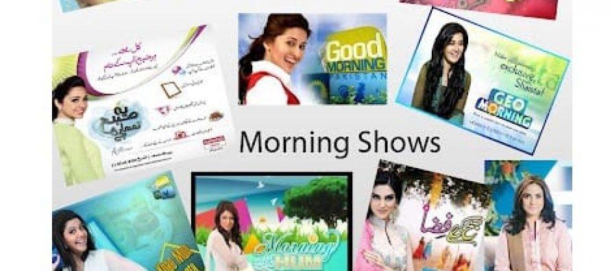 Morning shows: Entertainment or Headache!?!