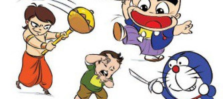Indian Dubbed Cartoons – A Nuisance!