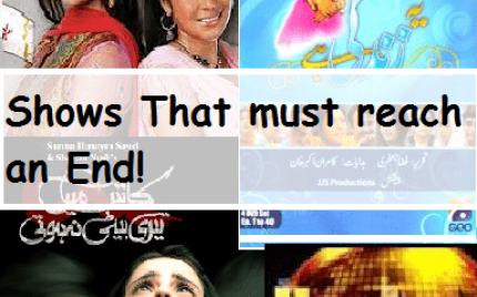 Pakistani Dramas that should come to an End!
