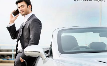 Fawad Khan Latest Photoshoot for a Mobile!