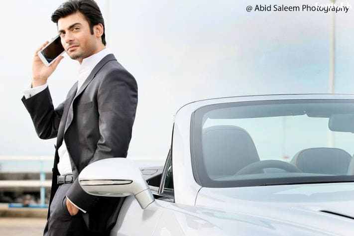 Fawad Afzal Khan Photoshoot For Q Mobile TVC 12