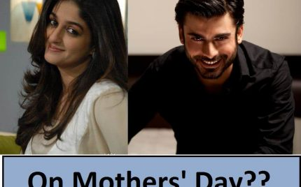 Fawad Khan and Nadia Jamil to do a Telefilm for Mothers' Day!