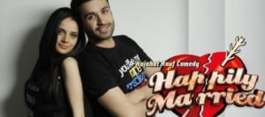 Azfer Rehman and Armeena Khan to be seen in Happily Married this March!