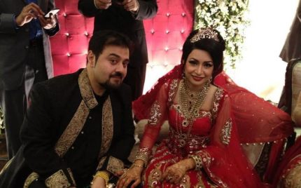 Ahmed Ali Butt in his Wedding Ceremony-Pictures!