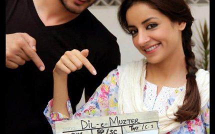 Dil-e-Muzter's Shooting Resumes: Latest Offscreen Pictures!