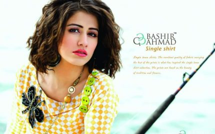 Syra Yousuf Became Brand Ambassador of Lawn Collection-Photo-shoot!