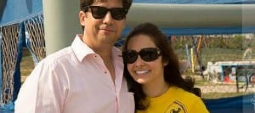 Juggun Kazim got engaged to Feisal H.Naqvi!