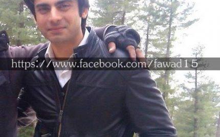 "Fawad-Amina on the Set of ""Arman""!"