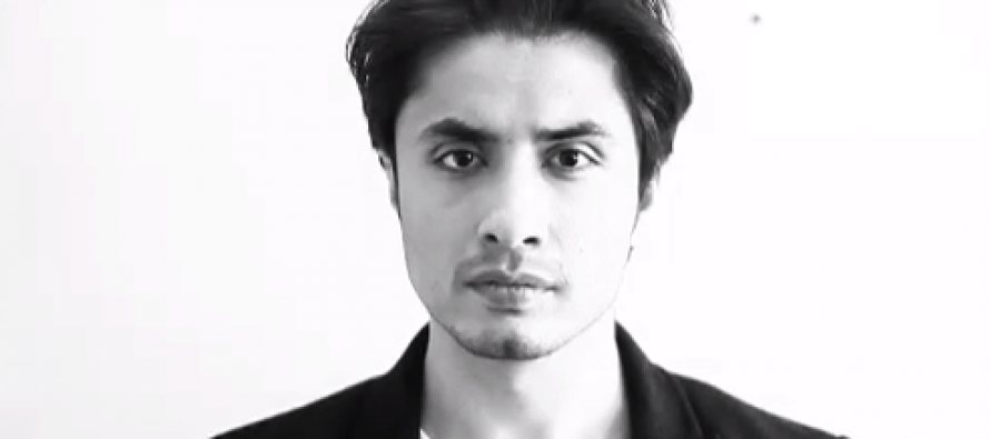 Ali Zafar records a dedicated Video message for elections 2013!