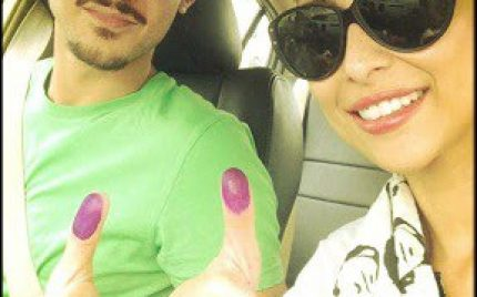 Celebrities On Election Day – Pictures