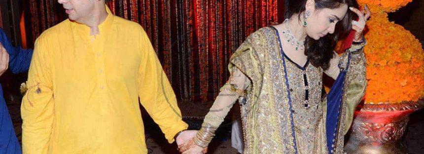 Juggan Kazim's Mehndi Ceremony-Celebrities made their appearances