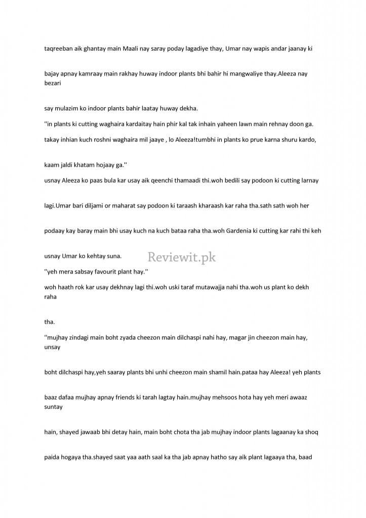 Amar Bail by Umera Ahmed Chapter 1 - 10 in Roman Urdu | Reviewit pk