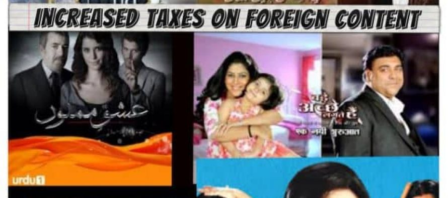 PEMRA Increases Taxes on Foreign Content – Will It Discourage The Channels?