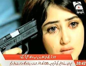Actress Sajjal Ali on Karachi Mafias Hit List Reviewitpk