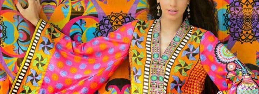 Sanam Saeed's Modelling for Warda Saleem Lawn- See Video!