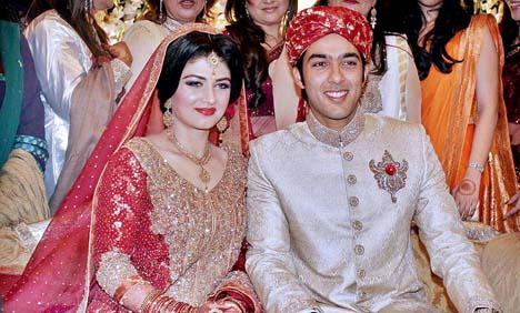 Aisam-ul-Haq-ties-the-knot-with-Faha-Makhdoom