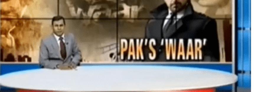 Indian Media Criticized Pakistani Movie WAAR! Video leaked