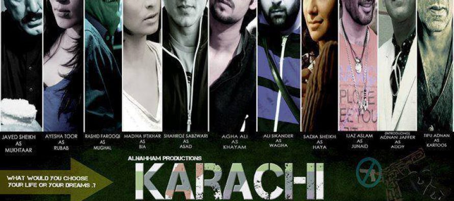 Upcoming Movie 'Karachi' Soon To Release In 2014!