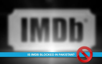 Is IMDB blocked in Pakistan?