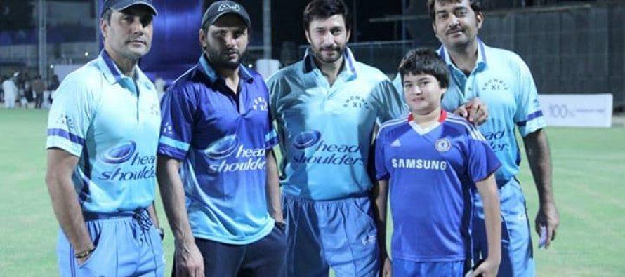 Cricket Match Between Showbiz Actors and Shahid Afridi!