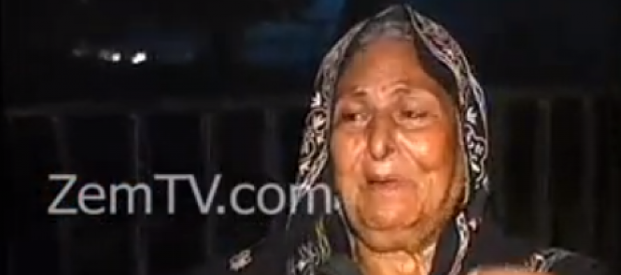 Legendary Actress Shamim Qazi Living under Open Sky!