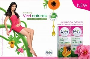 PR Card- New Veet Naturals