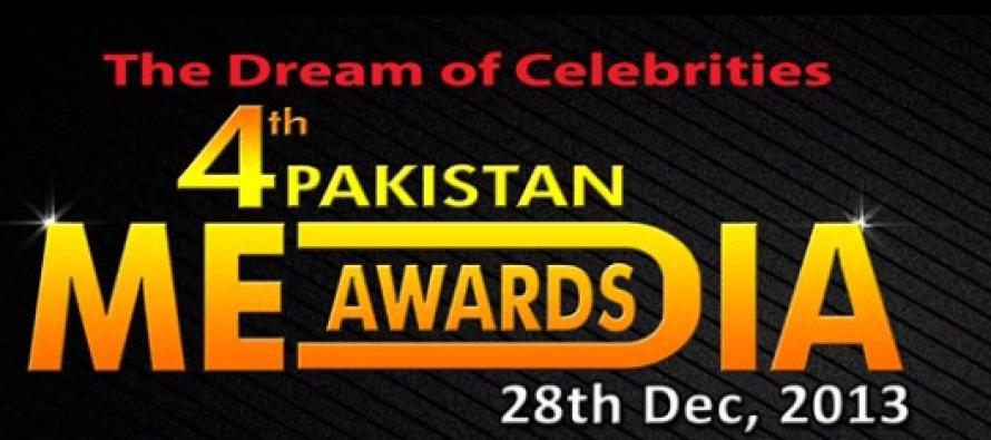 Nominations of Pakistan Media Awards 2013