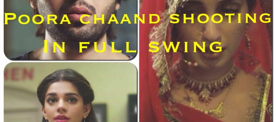 Iman Ali, Fahad Mustafa and Sanam Saeed starrer Poora Chaand: Shooting in full swing!