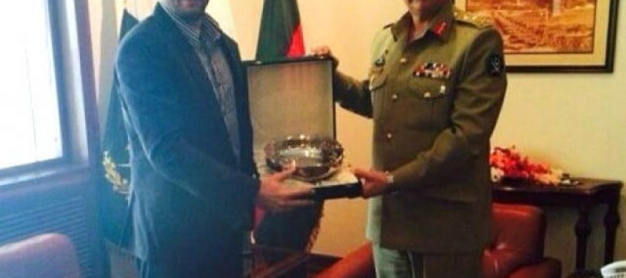 Pakistan Army acknowledges Shahid Afridi for his contributions