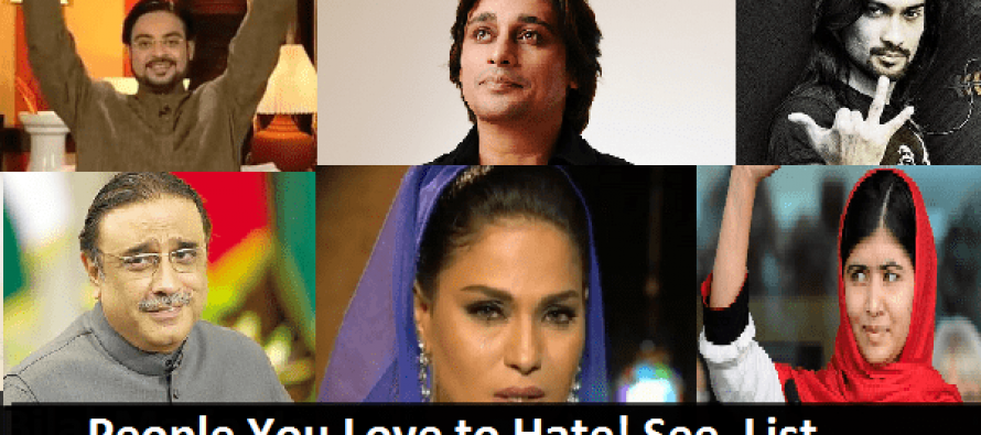 Celebrities you love to hate-A quick List