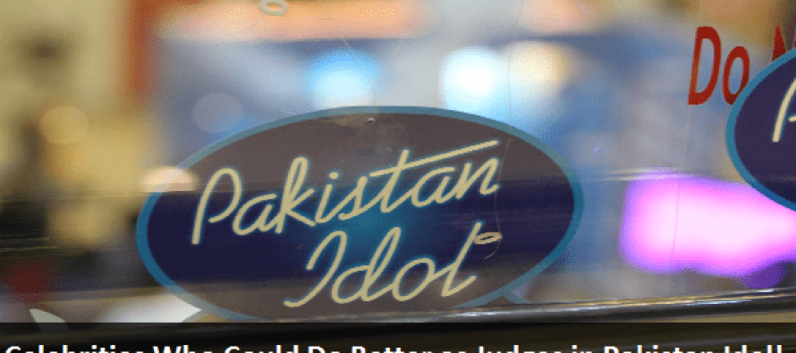 5 Celebrities Who Could Do Better as Judges in Pakistan Idol!
