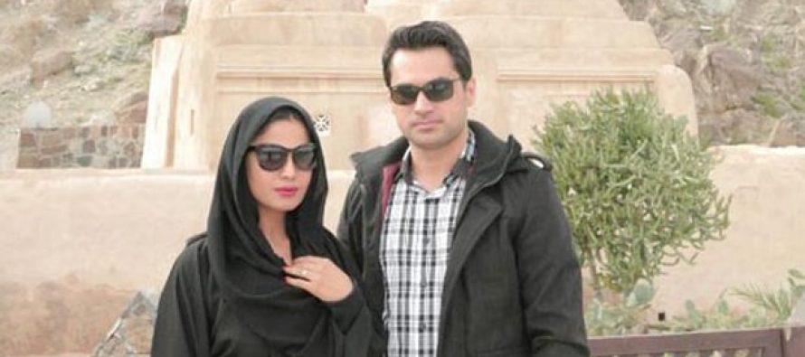 Veena Malik and Asad Bashir, White Wedding reception