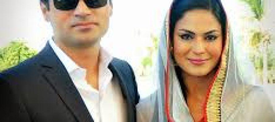 Moulana Tariq Jameel met Veena Malik and Asad Bashir Khattak