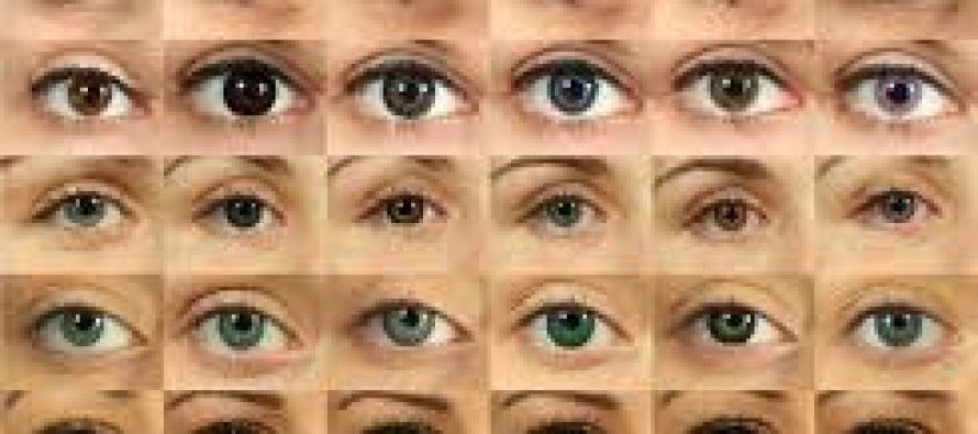 Eye Colour shows the personality