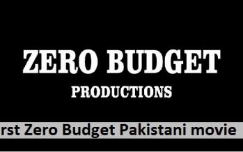 Pakistan's First Zero Budget Film Soon to Release
